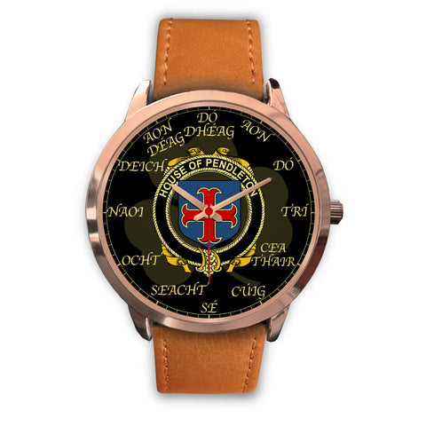 Irish Watch, Pendleton Ireland Family Rose Gold Watch TH7