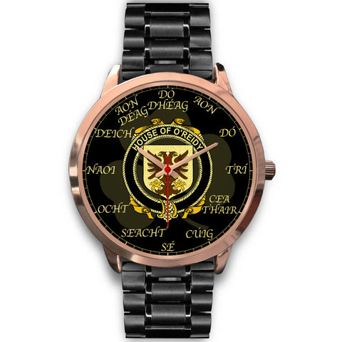 Image of Irish Watch, Reidy or O'Reidy Ireland Family Rose Gold Watch TH7
