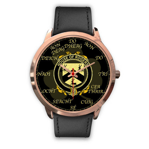 Irish Watch, Rogers Ireland Family Rose Gold Watch TH7