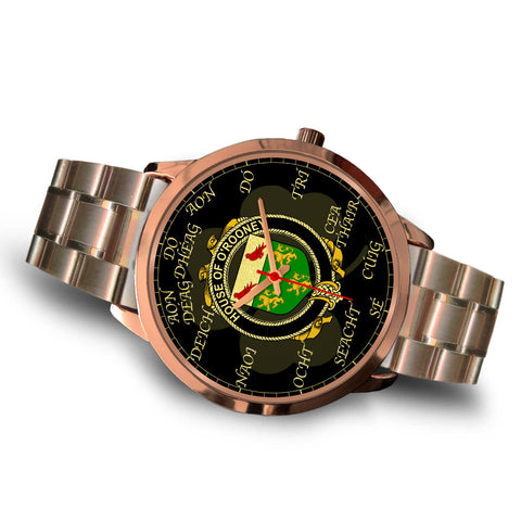 Irish Watch, Rooney or  O'Rooney Ireland Family Rose Gold Watch TH7