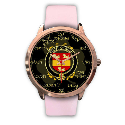 Irish Watch, Rush Ireland Family Rose Gold Watch TH7