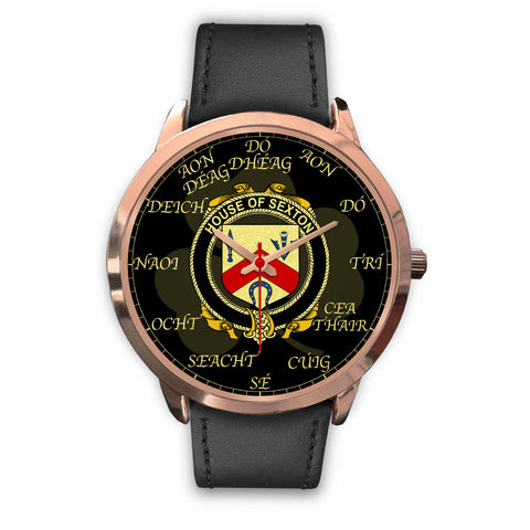 Irish Watch, Sexton Ireland Family Rose Gold Watch TH7