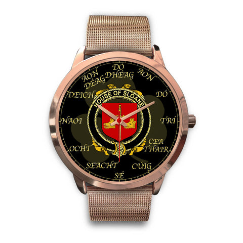 Irish Watch, Sloane Ireland Family Rose Gold Watch TH7