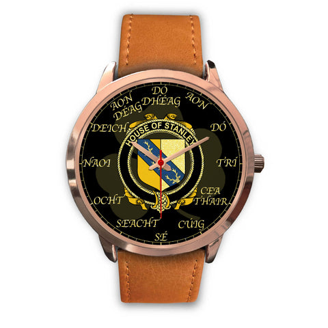 Image of Irish Watch, Stanley Ireland Family Rose Gold Watch TH7