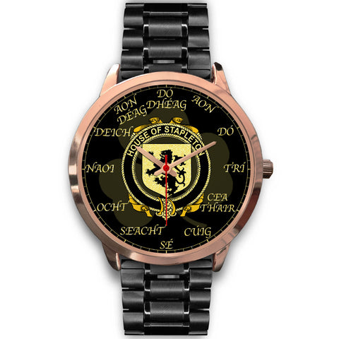 Irish Watch, Stapleton Ireland Family Rose Gold Watch TH7