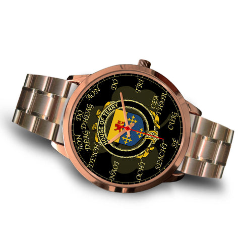Irish Watch, Terry Ireland Family Rose Gold Watch TH7