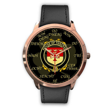 Irish Watch, Thacker Ireland Family Rose Gold Watch TH7