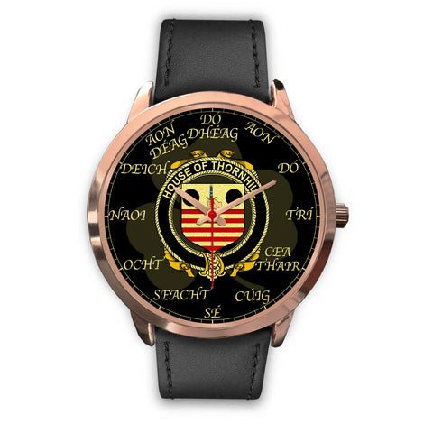 Image of Irish Watch, Thornhill Ireland Family Rose Gold Watch TH7