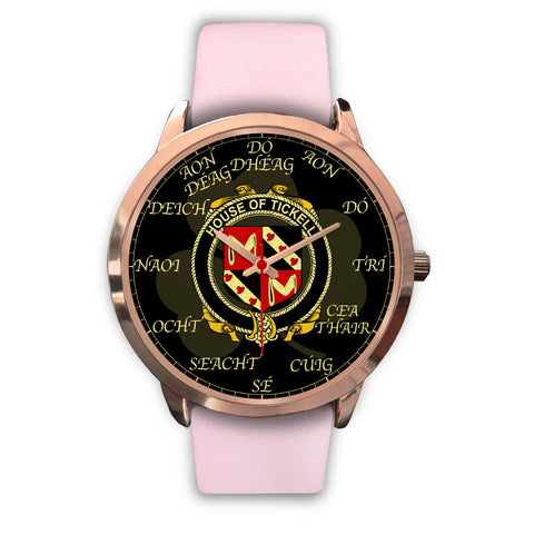 Irish Watch, Tickell Ireland Family Rose Gold Watch TH7