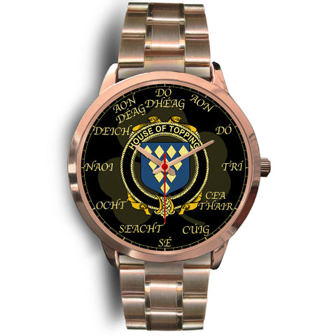 Irish Watch, Topping Ireland Family Rose Gold Watch TH7