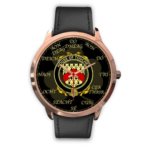 Image of Irish Watch, Touchet Ireland Family Rose Gold Watch TH7