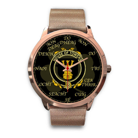 Image of Irish Watch, Towers Ireland Family Rose Gold Watch TH7