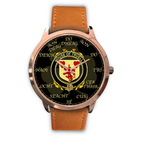 Irish Watch, Truell Ireland Family Rose Gold Watch TH7