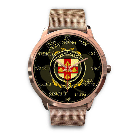 Irish Watch, Villiers Ireland Family Rose Gold Watch TH7
