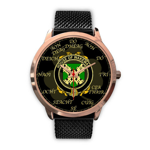 Irish Watch, Wakeman Ireland Family Rose Gold Watch TH7