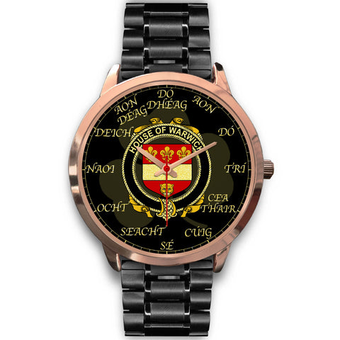 Irish Watch, Warwick Ireland Family Rose Gold Watch TH7