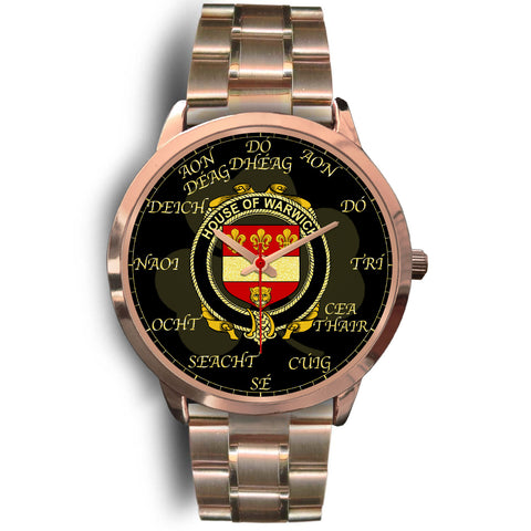 Image of Irish Watch, Warwick Ireland Family Rose Gold Watch TH7