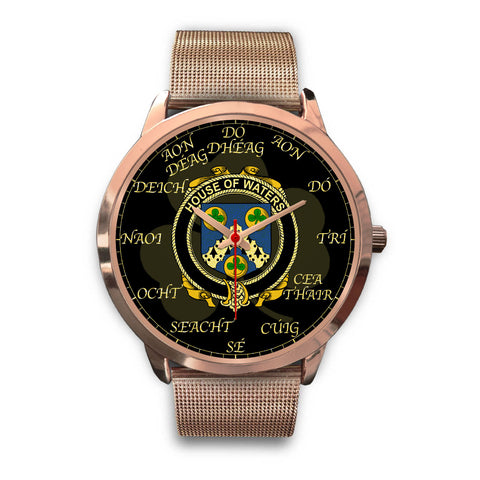 Image of Irish Watch, Waters Ireland Family Rose Gold Watch TH7