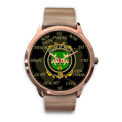 Irish Watch, Weld Ireland Family Rose Gold Watch TH7