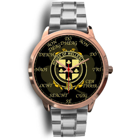 Irish Watch, Wellesley Ireland Family Rose Gold Watch TH7