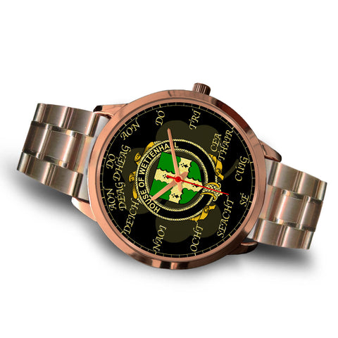 Irish Watch, Wettenhall Ireland Family Rose Gold Watch TH7
