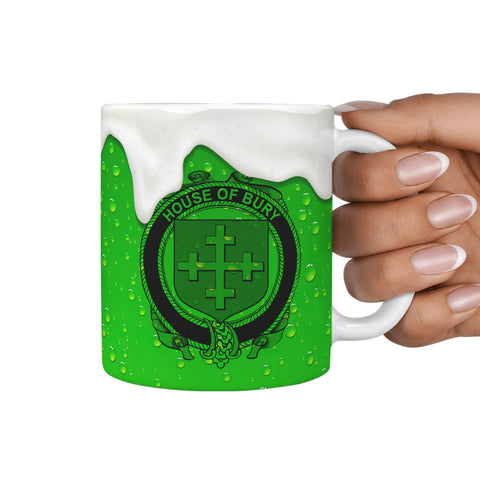 Irish Mug, Bury or Berry Ireland Family Mug TH7