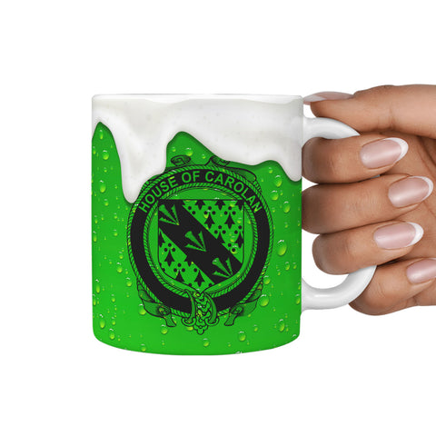Image of Irish Mug, Carolan Ireland Family Mug TH7