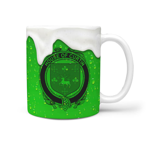 Irish Mug, Curtin or McCurtin Ireland Family Mug TH7