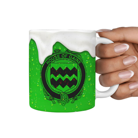 Irish Mug, Gaine or Gainey Ireland Family Mug TH7