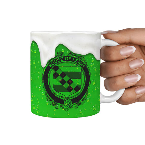 Irish Mug, Leigh or McLaeghis Ireland Family Mug TH7