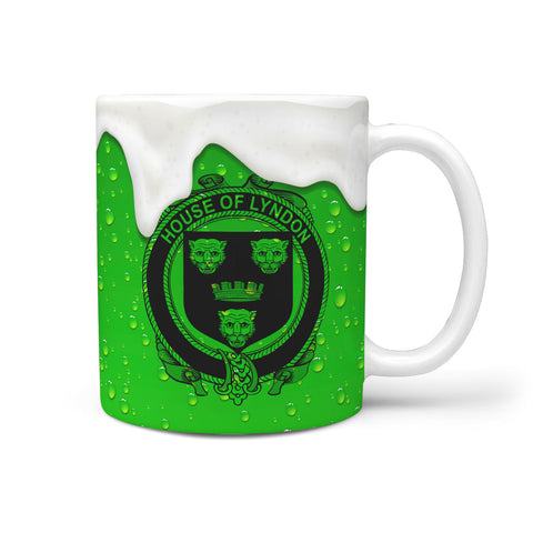 Irish Mug, Lyndon or Gindon Ireland Family Mug TH7