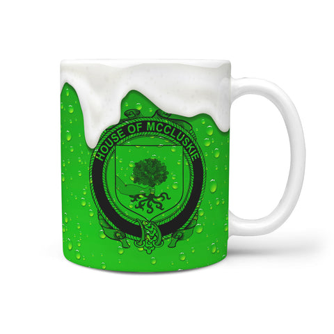 Irish Mug, McCluskie or McCloskie Ireland Family Mug TH7