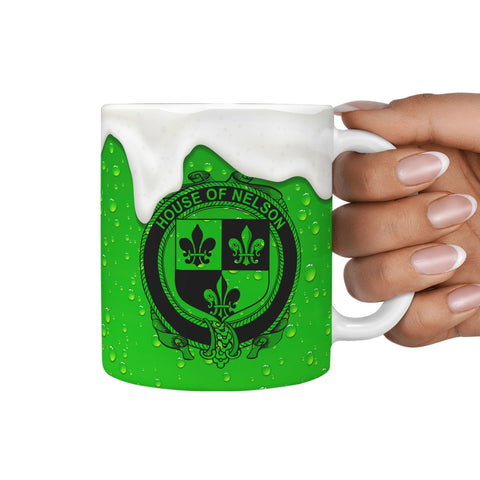 Irish Mug, Nelson or Nealson Ireland Family Mug TH7