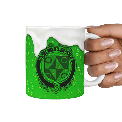 Irish Mug, Peacocke Ireland Family Mug TH7