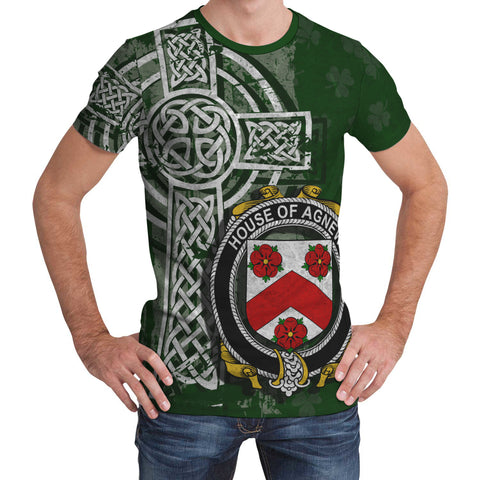 Image of Irish Family, Agnew Family Crest Unisex T-Shirt | 1st Ireland