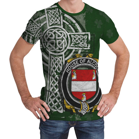Image of Irish Family, Alcock Family Crest Unisex T-Shirt | 1st Ireland