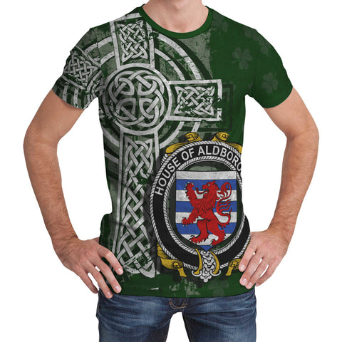 Irish Family, Aldborough Family Crest Unisex T-Shirt | 1st Ireland