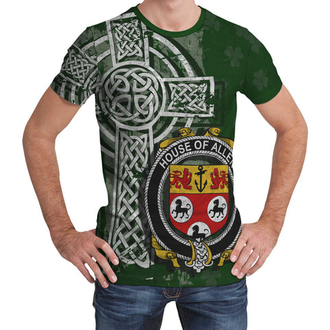 Image of Irish Family, Allen Family Crest Unisex T-Shirt | 1st Ireland