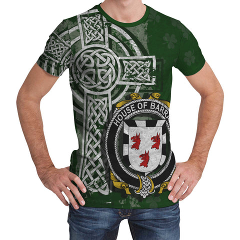 Irish Family, Barran Family Crest Unisex T-Shirt | 1st Ireland