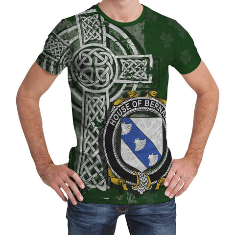 Irish Family, Bernard Family Crest Unisex T-Shirt | 1st Ireland