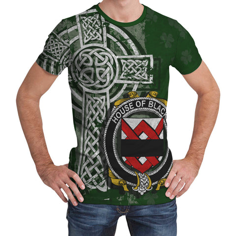 Irish Family, Blacke Family Crest Unisex T-Shirt | 1st Ireland