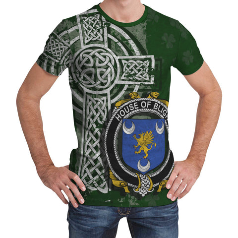 Irish Family, Bligh Family Crest Unisex T-Shirt | 1st Ireland