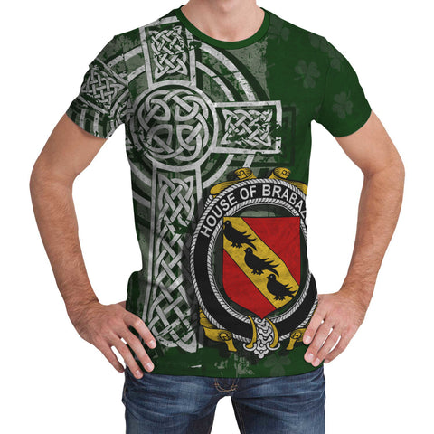 Irish Family, Brabazon Family Crest Unisex T-Shirt | 1st Ireland
