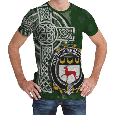 Image of Irish Family, Bradstreet Family Crest Unisex T-Shirt | 1st Ireland