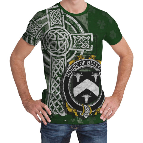 Irish Family, Bulkeley Family Crest Unisex T-Shirt | 1st Ireland