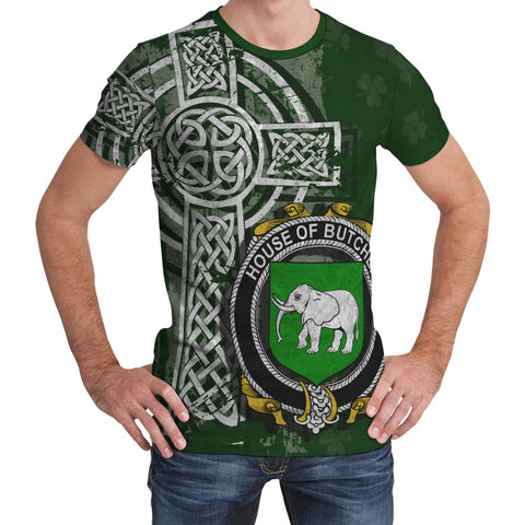 Irish Family, Butcher Family Crest Unisex T-Shirt | 1st Ireland