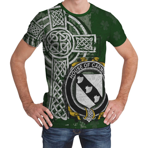 Image of Irish Family, Carmick Family Crest Unisex T-Shirt | 1st Ireland