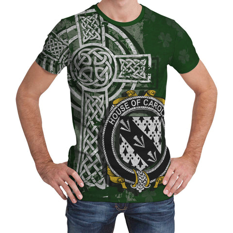 Image of Irish Family, Carolan Family Crest Unisex T-Shirt | 1st Ireland