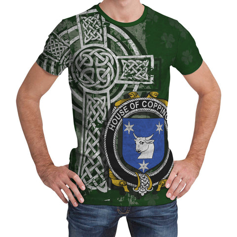 Irish Family, Coppinger Family Crest Unisex T-Shirt | 1st Ireland