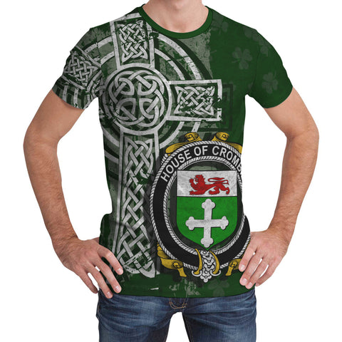 Image of Irish Family, Crombie Family Crest Unisex T-Shirt | 1st Ireland